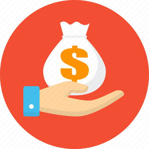 business, donation, finance, money icon