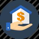 house, donation, finance, business, money