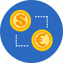 business, exchange, finance, money icon