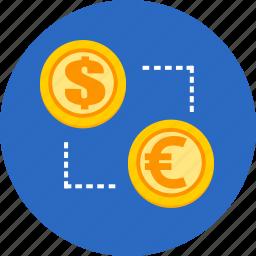 business, exchange, finance, money icon