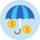 business, finance, insurance, money icon