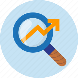 business, finance, market, money, research icon