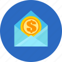 business, finance, money, send icon