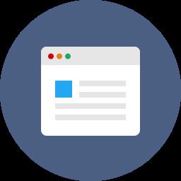 browser, internet, web, webpage, website, window icon