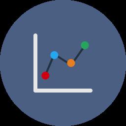 analysis, analytics, bar, chart, diagram, pie, statistics icon