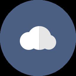 cloud, computing, internet, storage, web icon