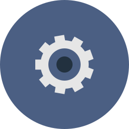 cog, control, gear, options, settings, system icon
