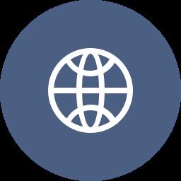 connection, globe, internet, web, website, worldwide icon