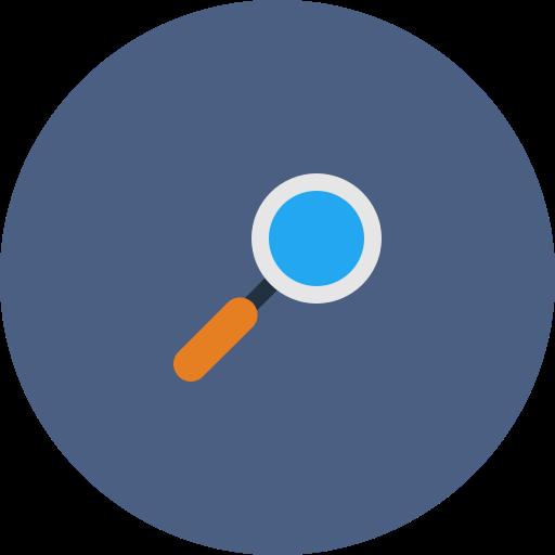 explore, glass, magnifier, search, web, zoom icon