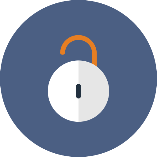 lock, locked, privacy, protect, unlock icon