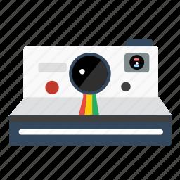 camera, digital, lens, photo, photography, polaroid icon