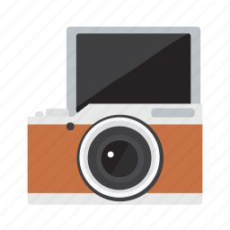 camera, digital, lens, photo, photography, polaroid, selfie icon