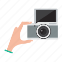 camera, digital, lens, photo, photography, selfie icon
