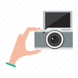 camera, digital, lens, photo, photography, selfie icon