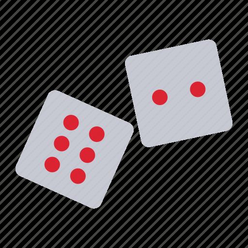 dice, die, gambling, poker icon