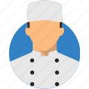 chef character, flat design character, profile, user, avatar, person