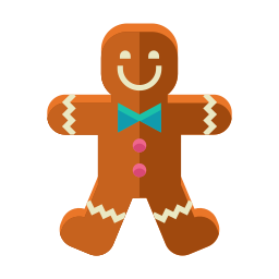 cookie, dessert, gingerbread, man, sweets icon