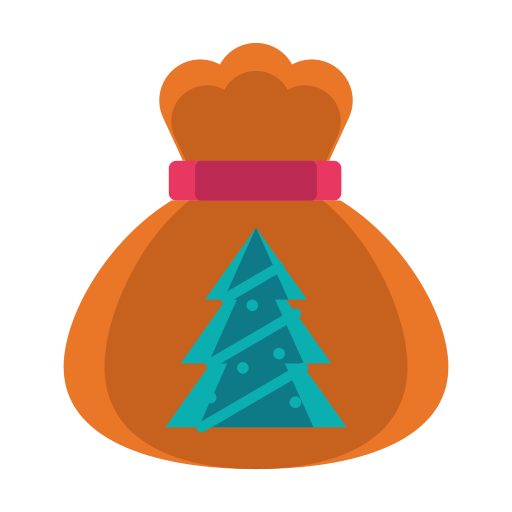 bag, christmas, gitft, present, tree icon