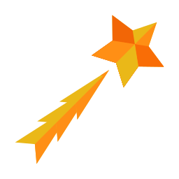 astronomy, shoot, shooting, star, stargaze icon