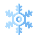 christmas, ice, snow, cold, snowflake, winter, flake icon