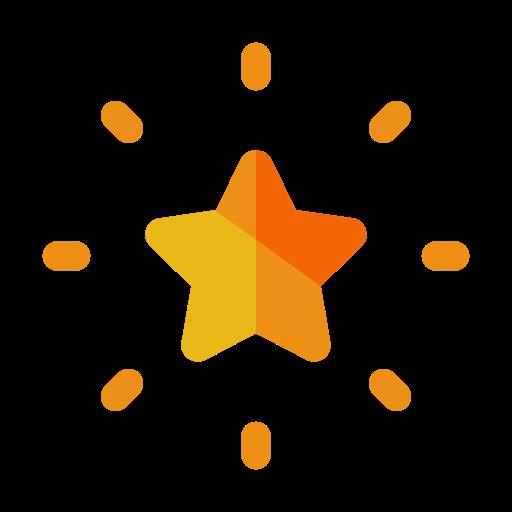 bright, christmas, decorate, decoration, favourite, light, star icon