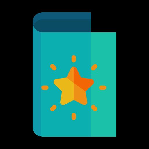 bright, card, greeting, light, send, star icon