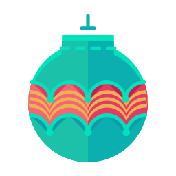 ball, christmas, decorate, decoration, ornament, tree icon