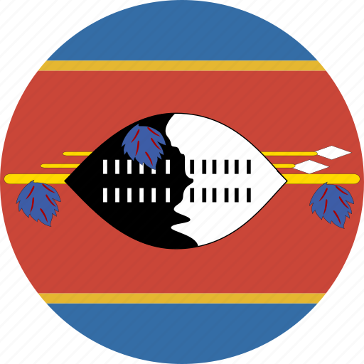 cirlce, swaziland icon
