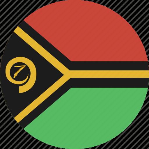 circle, vanuatu icon