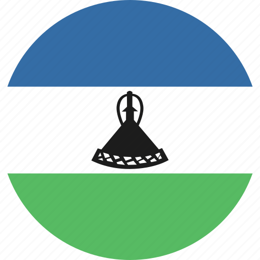 circle, lesotho icon