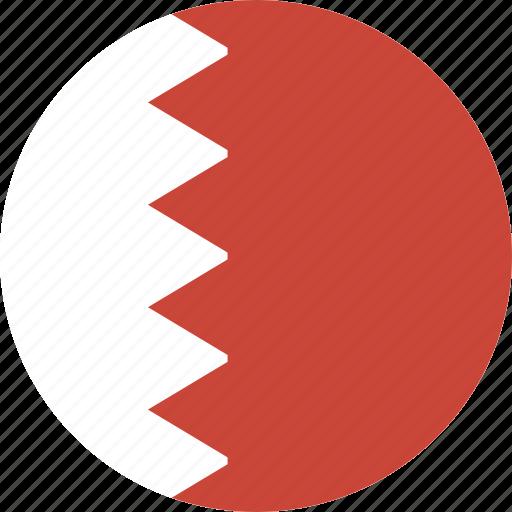 bahrain, circle icon