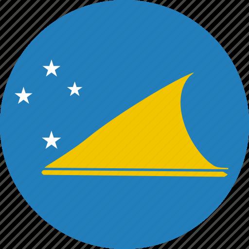 country, flag, nation, tokelau icon