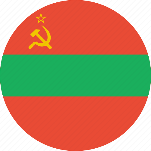 country, flag, nation, transnistria icon