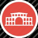 attraction, building, office, post, saigon icon
