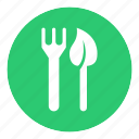 eat, food, leaf, restaurant, vegan, vegetarian icon