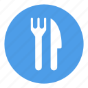 eat, food, fork, knife, restauratn icon