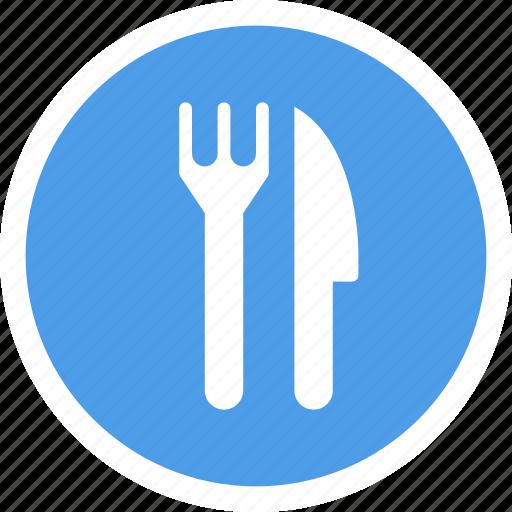 eat, food, fork, knife, restauratn icon