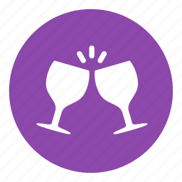 bar, cheer, drink, glass, hangout icon