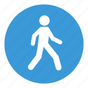 human, street, transport, walking icon