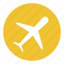 airport, flight, plane, transport icon