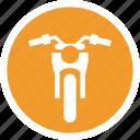 motorbike, transport, vehical icon