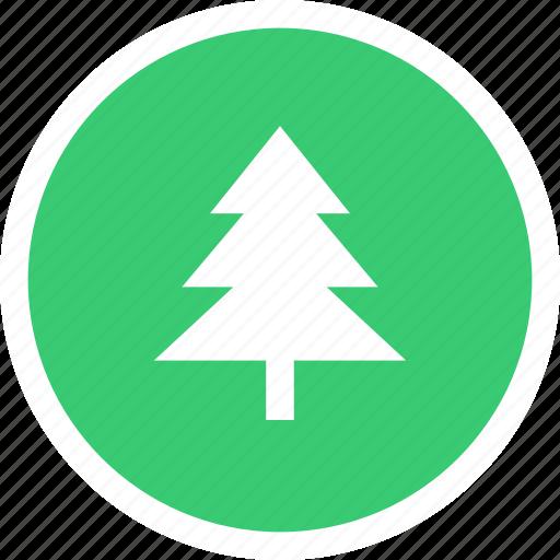 forest, garden, park, tree icon