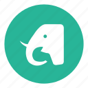 animal, elephant, garden, zoo icon