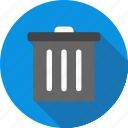 cancel, delete, trash icon