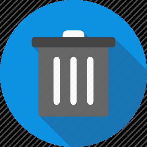 cancel, delete, trash icon