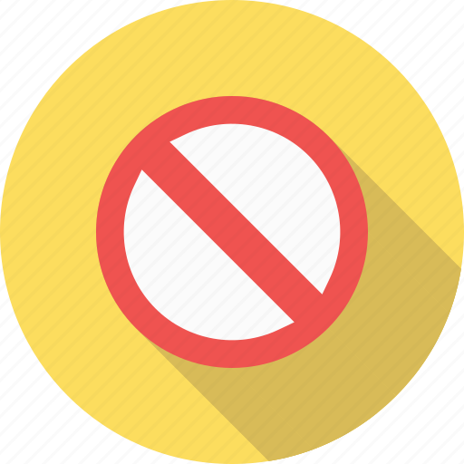 cancel, sign, stop icon