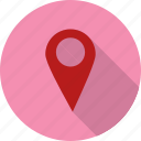 iocation, location, pin icon