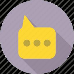 chat, communication, talk icon