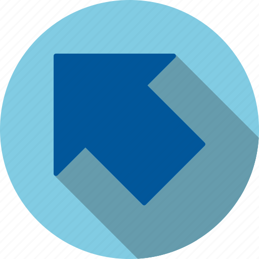 direction, left, up icon