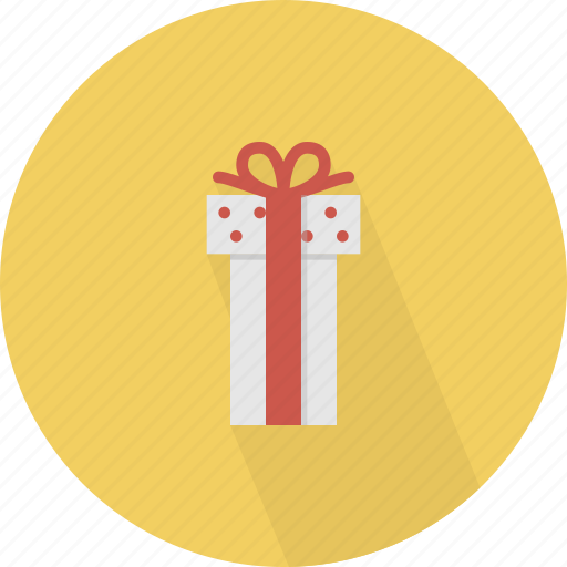 dot, giftbox, polkadot, surprise icon